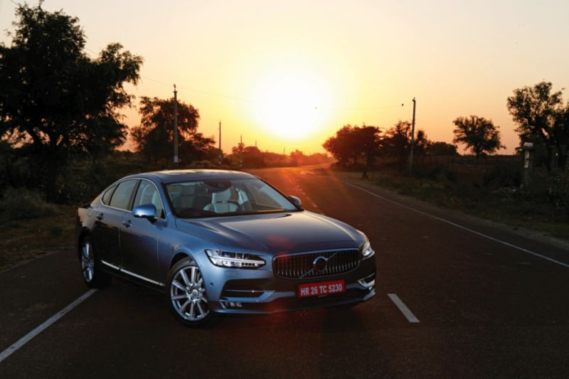 Volvo S90 D4 Inscription First Drive Review - Understated No More - Car India