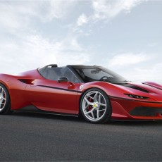 New Ferrari J50 revealed