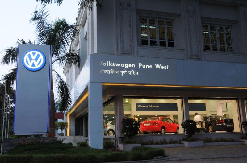 Volkswagen Pune Dealership Wins Diamond Pin Award Car India
