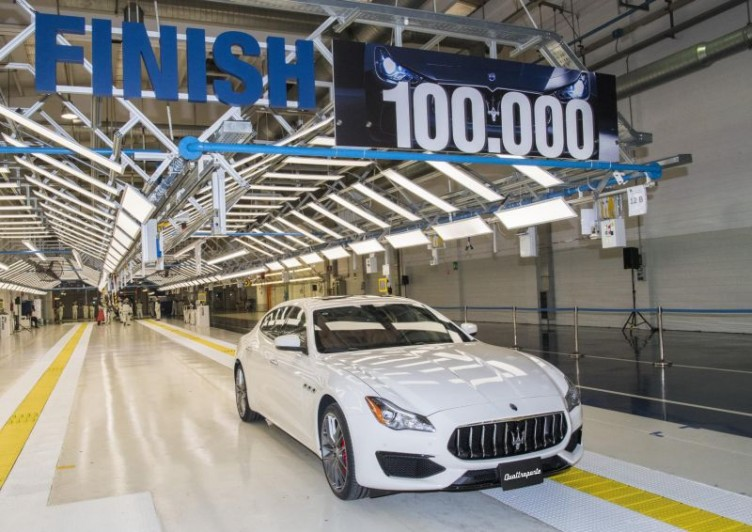 Maserati Roll Out Their 100,000th Car