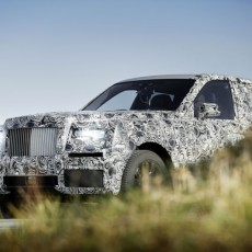 Rolls-Royce Project Cullinan Takes Real-world Shape