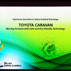 Toyota Caravan – An Initiative to Promote Safety and Eco-Friendly Technology