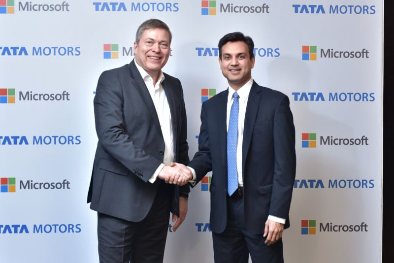 Tata Motors and Microsoft Collaborate To Enhance In-car Connectivity