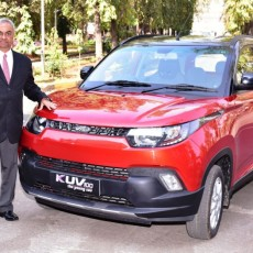 Mahindra Celebrate One Year of the KUV100