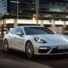 Porsche Panamera Turbo S e-hybrid At Geneva