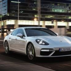 Porsche Panamera Turbo S e-hybrid At Geneva