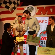 MRF Challenge Trophy Winners Awarded