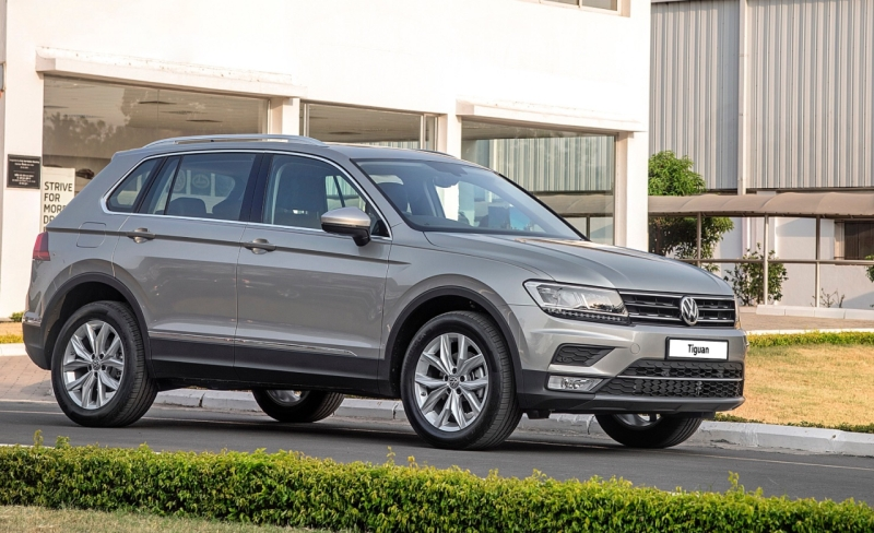 2017 Car India VW Tiguan launch imminent web 1