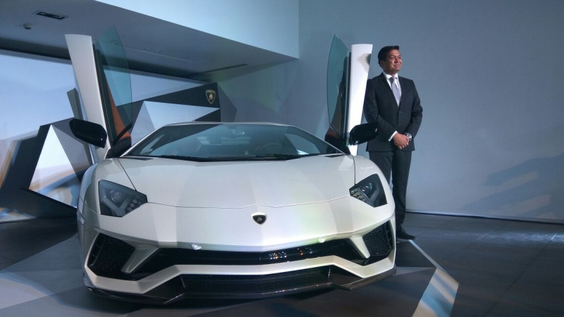 Just Launched The New Lamborghini Aventador S Now In India Car India