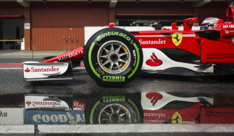 Kimi Raikkonen Scuderia Ferrari F1 web