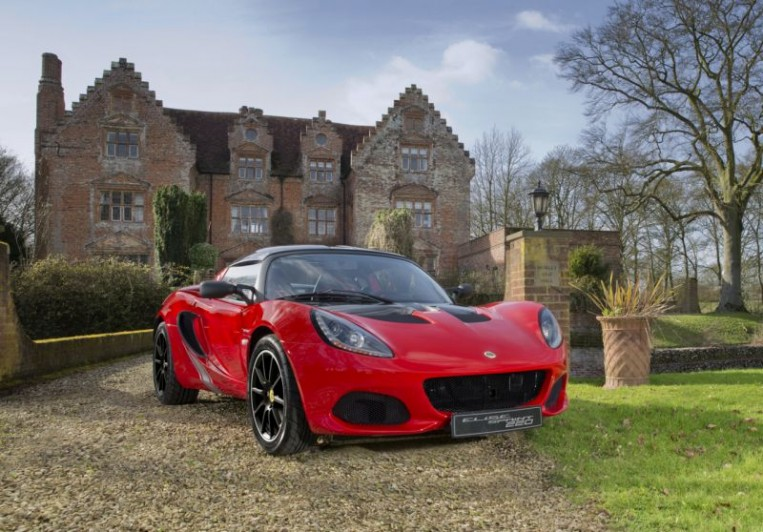 Lotus Elise Sprint Edition Unveiled