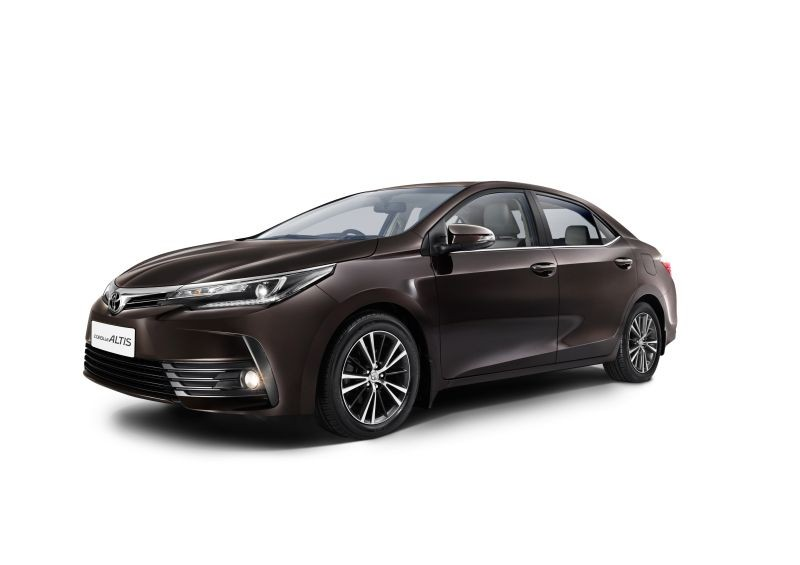 New Toyota Corolla Altis launched