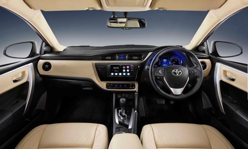 New Corolla Altis_Dashboard Web