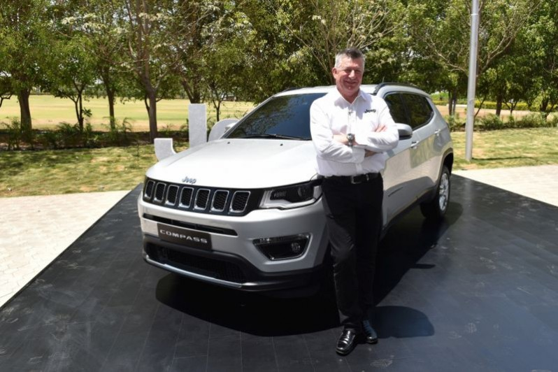Made-in-India Jeep Compass to Roll Out in June 2017