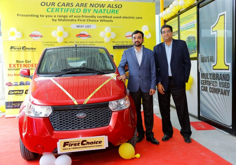 Mahindra Launch India's First Pre-owned Electric Vehicle Outlet