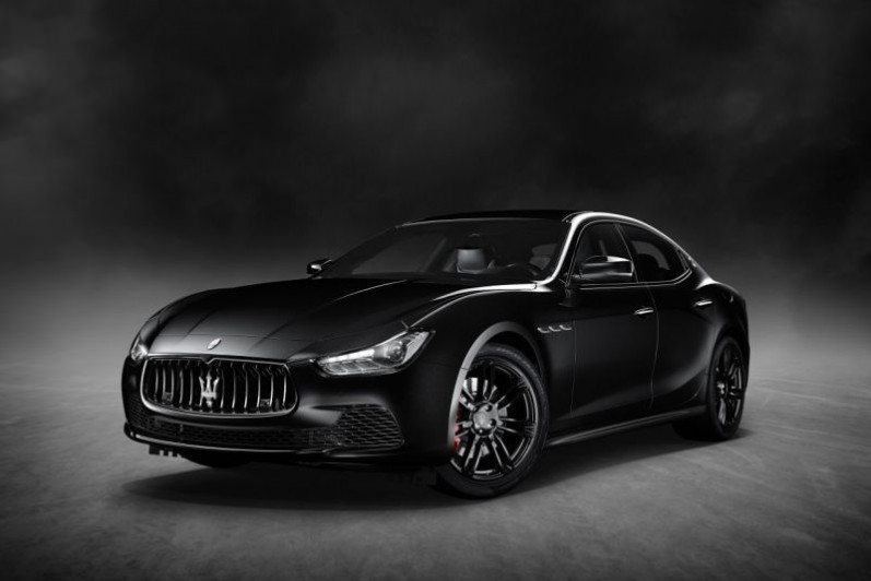 Maserati Ghibli 'Nerissimo' Edition Unveiled in New York