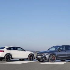 Mercedes-AMG GLC 63 S 4MATIC+ Coupé, designo diamantweiß bright; Mercedes-AMG GLC 63 S 4MATIC+, selenitgrau    ;Kraftstoffverbrauch kombiniert: 10,7  l/100 km; CO2-Emissionen kombiniert: 244  g/km  Mercedes-AMG GLC 63 S 4MATIC+ Coupé, designo diamond white bright ; Mercedes-AMG GLC 63 S 4MATIC+, selenite grey; Fuel consumption combined: 10.7 l/100 km; combined CO2 emissions: 244 g/km