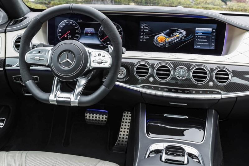 Mercedes-AMG S 63 4MATIC+ 2018 Interior web