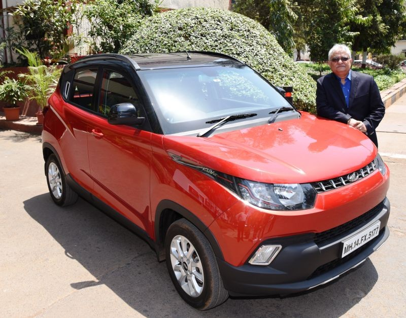 Mahindra announces sale of 50,000 units of the KUV100