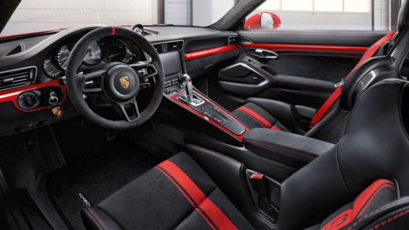 Porsche 911 GT3 Interior web