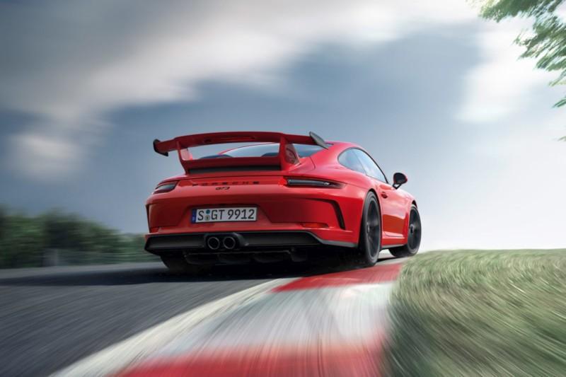 Porsche 911 GT3 Rear web