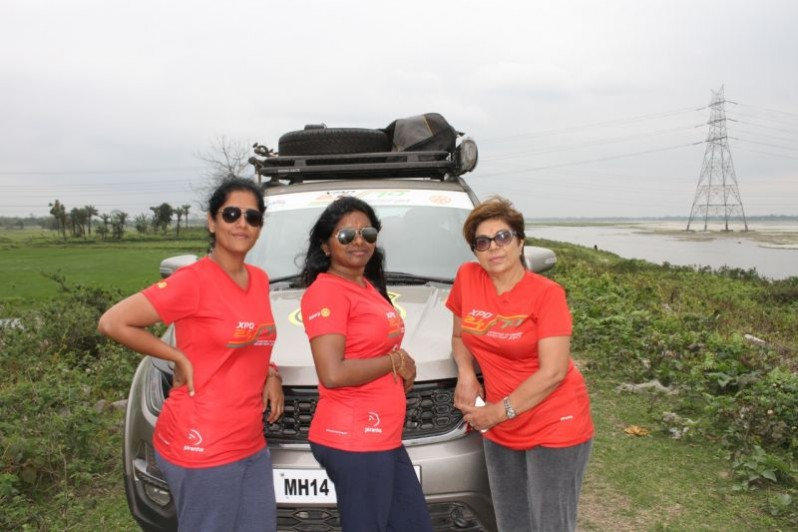 Tata Hexa Set Off On Epic Adventure