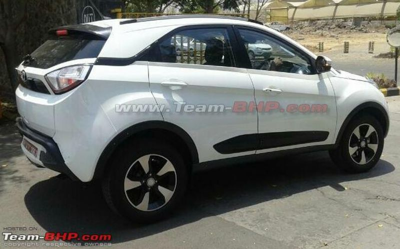 Tata Nexon Spotted Testing Car India