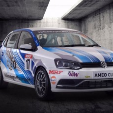 Volkswagen Introduce the Ameo Cup Race Car