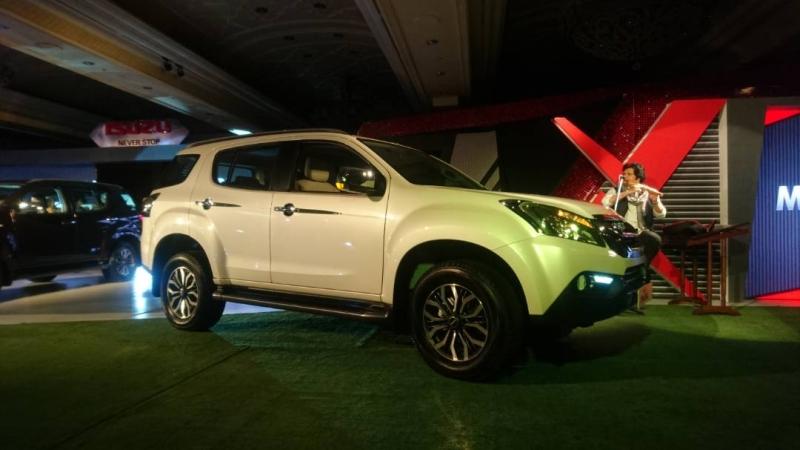 2017 Car India Isuzu MU-X launch web 1