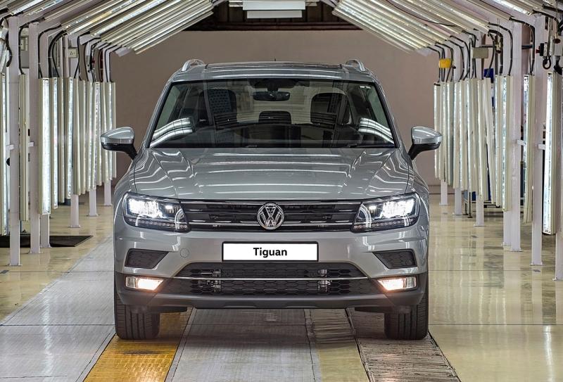 2017 Car India VW Tiguan launch imminent web 2