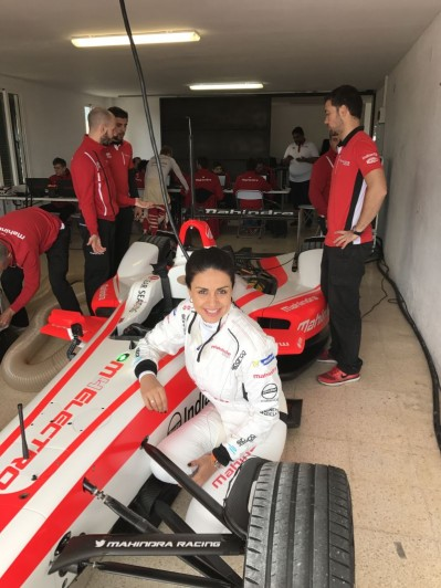 Gul Panag, First Indian Women to Drive Formula E Race Car