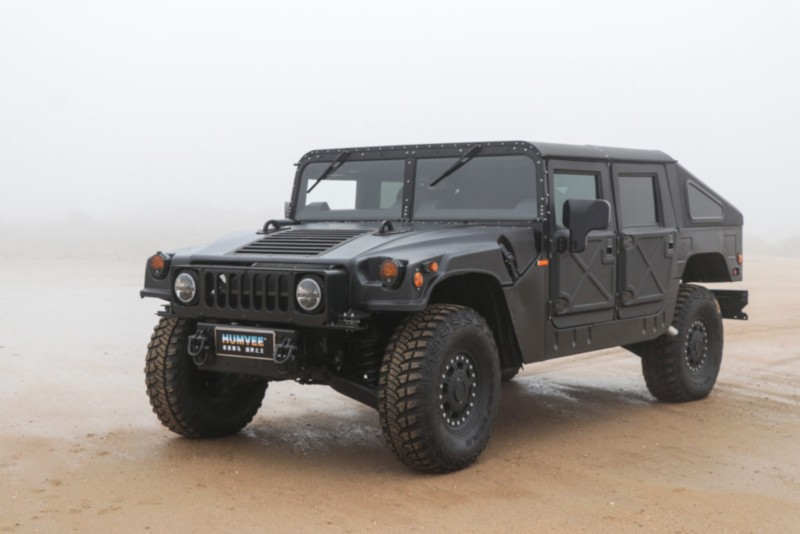 Military Vehicles For Sale >> Hummer H1 Comeback - 'Humvee C-Series' Débuts at Auto Shanghai - Car India