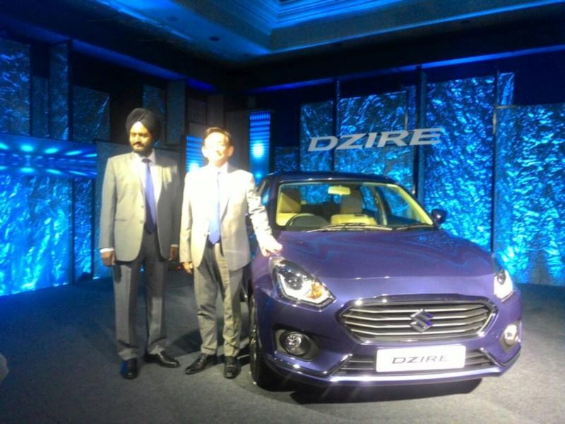 Maruti Suzuki DZire Launch web