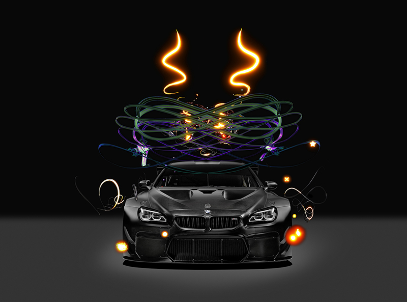 BMW Art Car Goes Digital