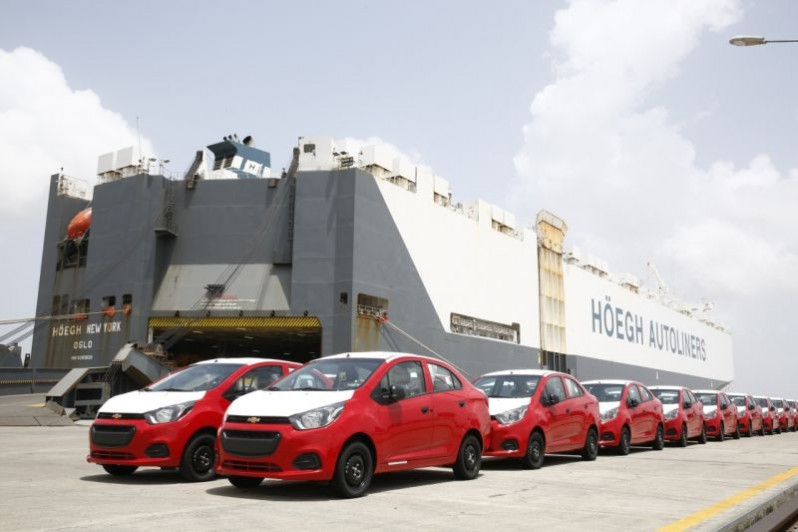 India-made Chevrolet Beat Sedans Exported to Latin America