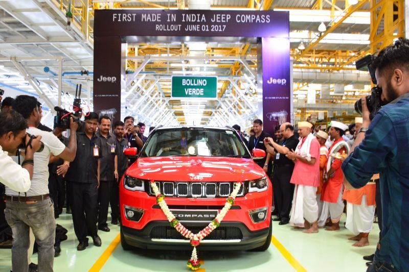 Jeep Compass Local Production Kicks Off