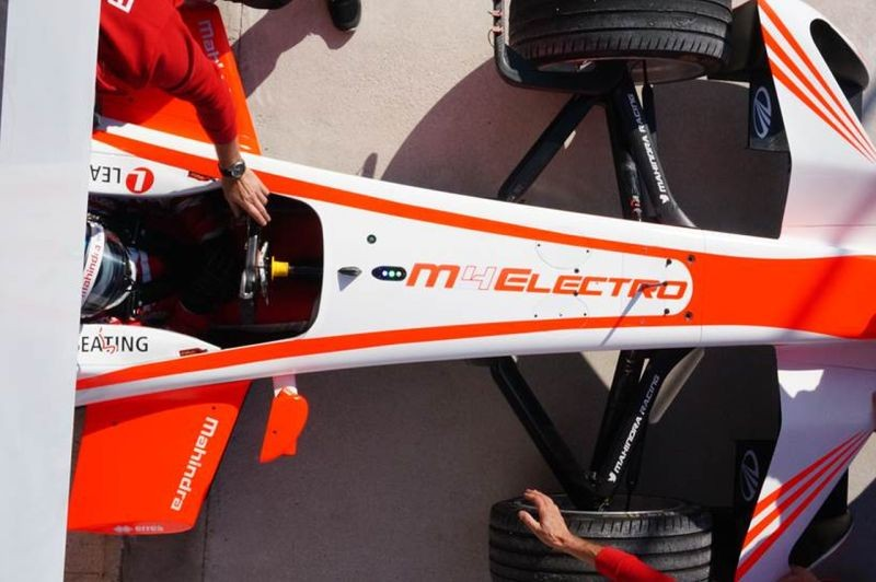 Mahindra Racing's M4Electro to Debut at Goodwood