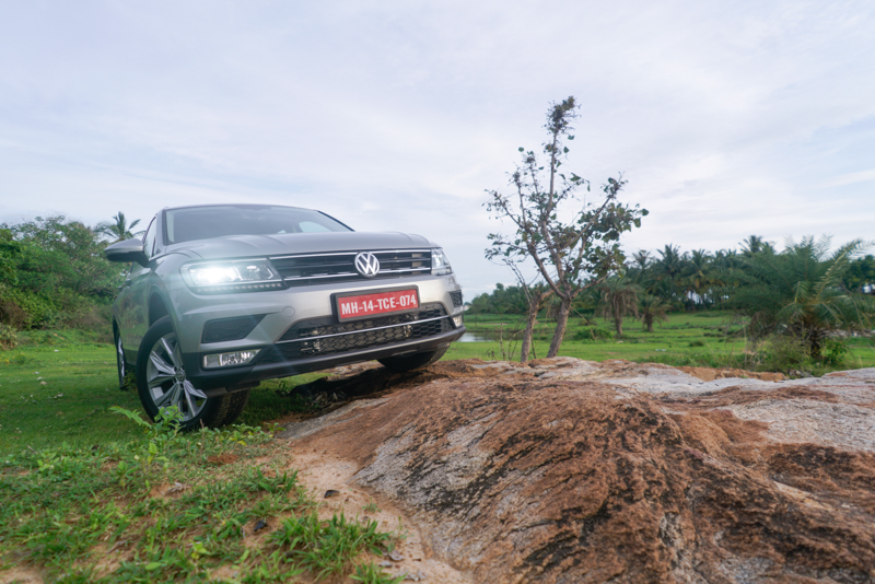 Going off-road on VW Tiguan in India