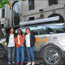 All-woman Team Drive Tata Hexa Through 24 Countries