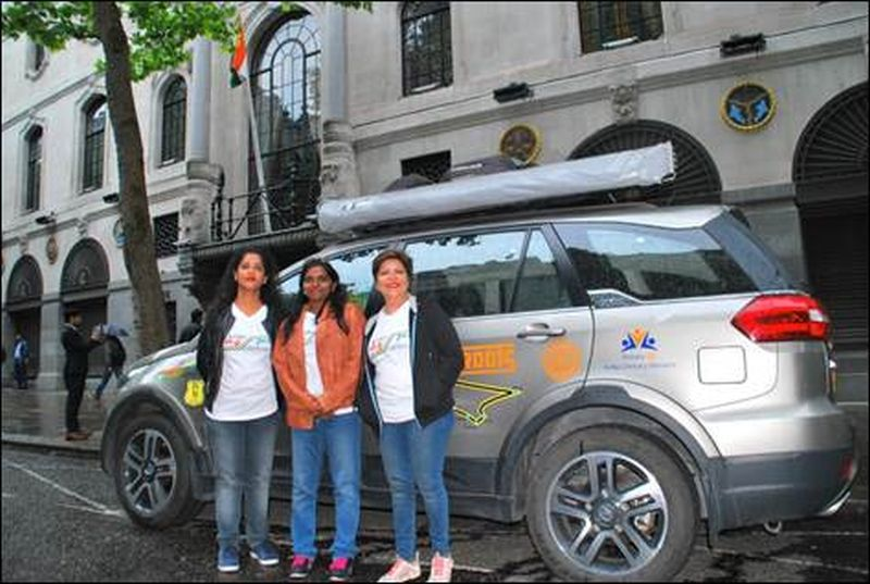 Tata Hexa Epic Adventure