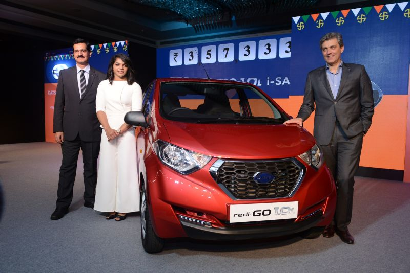 Datsun redi-GO 1.0-litre launched at Rs 3.57 lakh