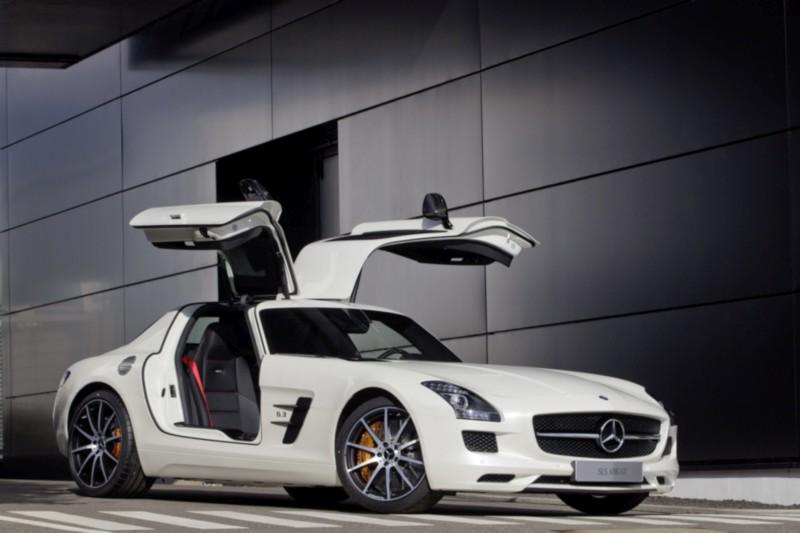 Mercedes-Benz SLS AMG GT, Exterieur Mercedes-Benz SLS AMG GT, exterior