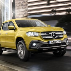 First Pick-up: Mercedes-Benz X-Class Unveiled