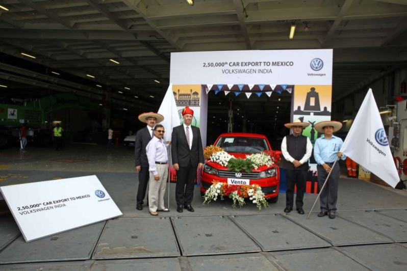 Volkswagen India Export 250,000 Cars to Mexico