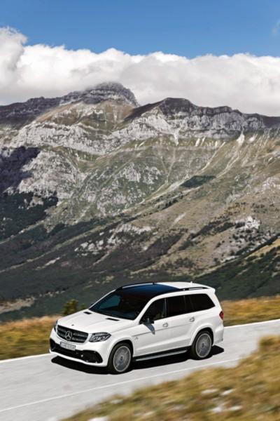 Mercedes-AMG GLS 63 4MATIC, Exterieur: designo diamantweiß bright Mercedes-AMG GLS 63 4MATIC, exterior: designo diamond white bright