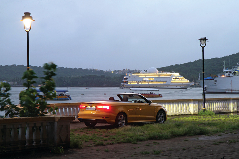 Audi A3 cabriolet to goa (1)