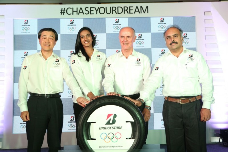 Bridgestone India Announce P V Sindhu as Brand Ambassador