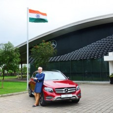 Mercedes-Benz Celebrate 70 Years of Indian Independence With The GLC 'Celebration Edition'