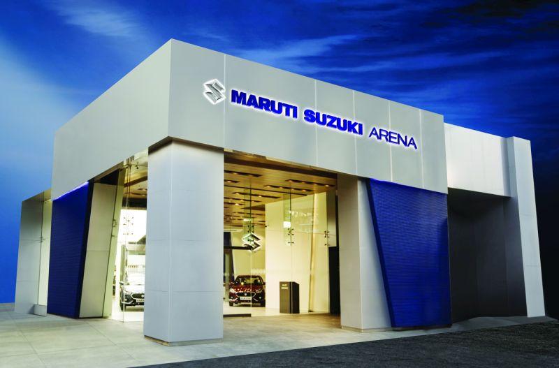Maruti Suzuki Arena Web