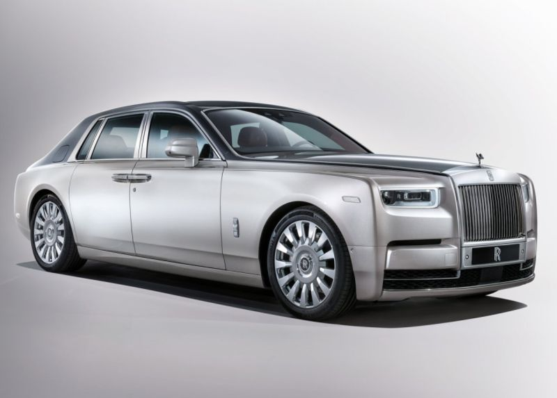 Eighth-generation Rolls Royce Phantom Revealed